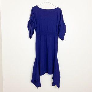 Karen Millen Handkerchief Hem Sheath Dress 4 #4078